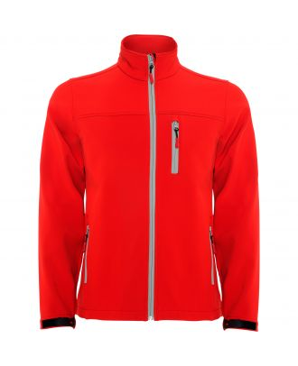 Softshell micropolaire manches longues ANTARTIDA rouge