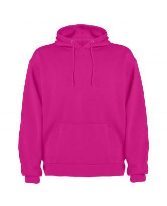 Sweat-shirt capuche avec poche kangourou CAPUCHA rosacé