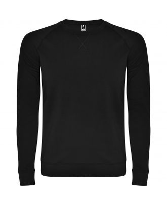 Sweat-shirt homme manches longues raglan ANNAPURNA noir