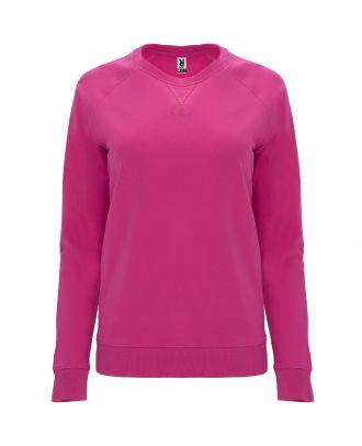 Sweat-shirt femme manches longues raglan ANNAPURNA WOMAN rosacé